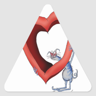 missing you lots, tony fernandes triangle sticker