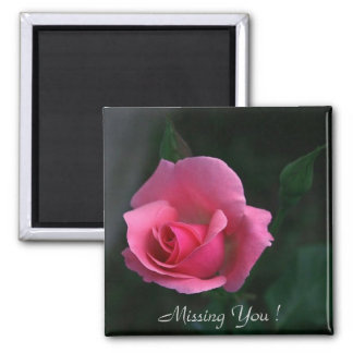 Missing You! Square Magnet