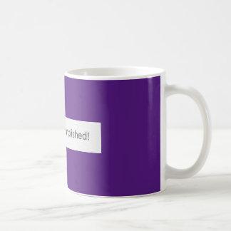 Mission Accomplished! Basic White Mug