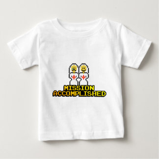 """Mission Accomplished"" Marriage (Lesbian, 8-bit) Baby T-Shirt"