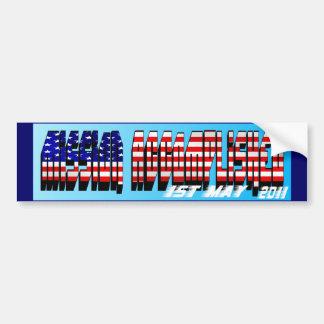 Mission Accomplished Obama Kills Osama Bumper Sticker