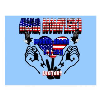 Mission Accomplished Obama Kills Osama Postcard