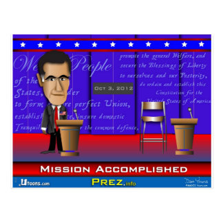 Mission Accomplished Postcard