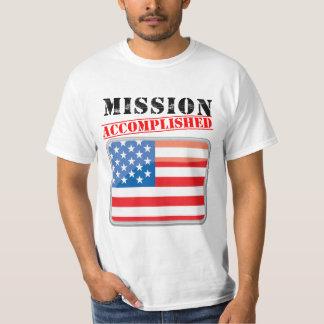 Mission Accomplished United States Shirts