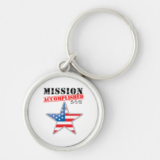 Mission Accomplished USA Key Chain