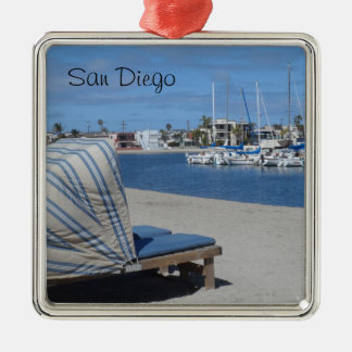 Mission Bay- San Diego Christmas Ornament