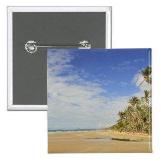 Mission Beach 2 15 Cm Square Badge