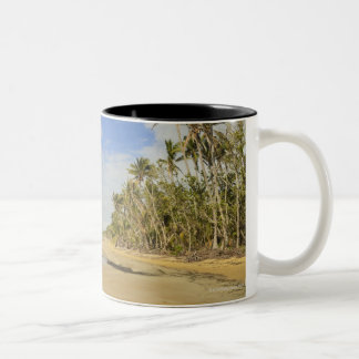 Mission Beach 2 Two-Tone Coffee Mug