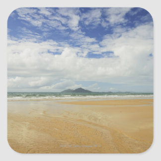 Mission Beach and Dunk Island 2 Square Sticker