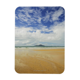 Mission Beach and Dunk Island Vinyl Magnet