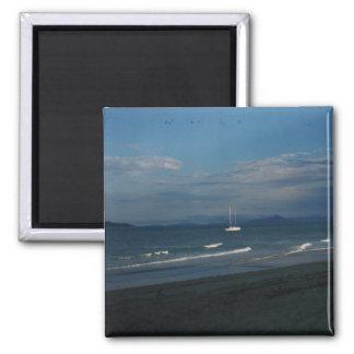 Mission Beach Square Magnet