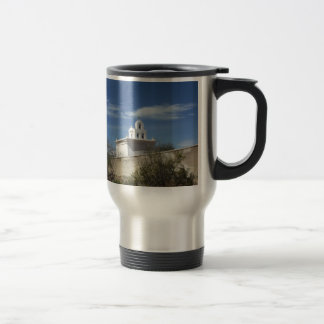 Mission Bell Tower Stainless Steel Travel Mug
