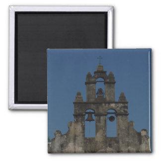 Mission Bells Square Magnet