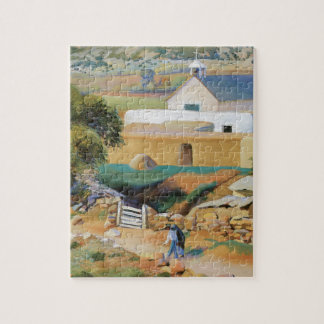 Mission Church Jigsaw Puzzle