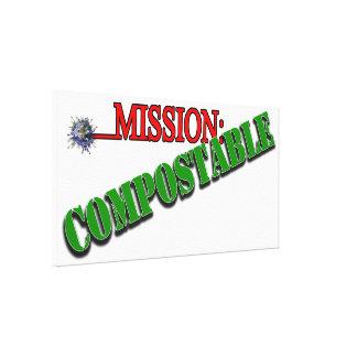 Mission COMPOSTABLE 4 Canvas Prints
