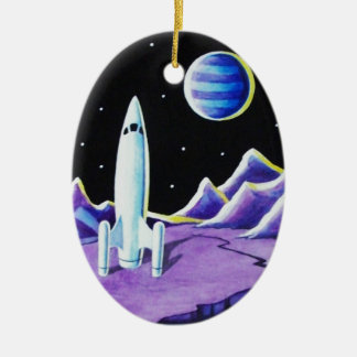 MISSION CONTROL CHRISTMAS ORNAMENT