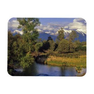 Mission Creek runs through the National Bison Rectangular Photo Magnet