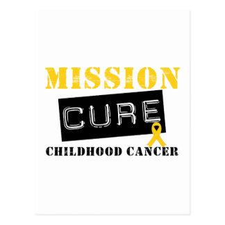Mission Cure Childhood Cancer Postcard