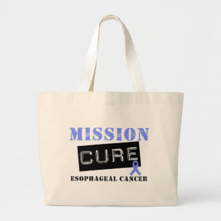 Mission Cure Esophageal Cancer Jumbo Tote Bag