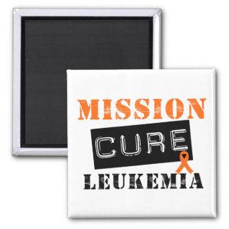 Mission Cure Leukemia Magnet