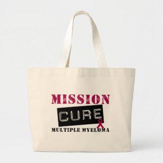Mission Cure Multiple Myeloma Jumbo Tote Bag