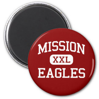 Mission - Eagles - High School - Mission Texas Refrigerator Magnets
