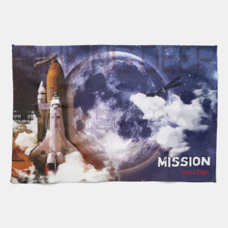 Mission Jesus One Tea Towel