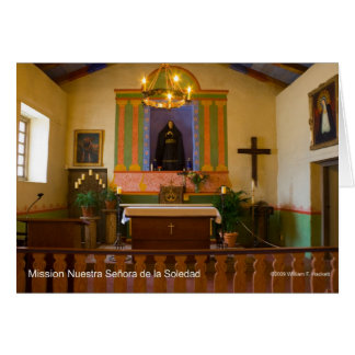 Mission Nuestra Señora de la Soledad Products Greeting Cards