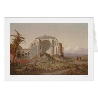 Mission of San Juan Capistrano. Southern CA (1231) Greeting Card