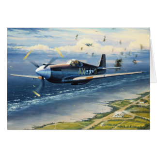 Mission Over Normandy by William S. Phillips Card