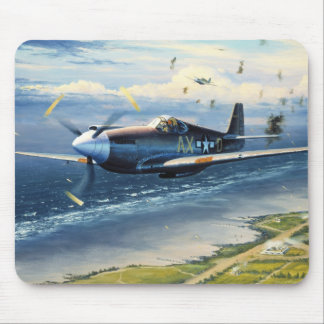 Mission Over Normandy by William S. Phillips Mouse Mat