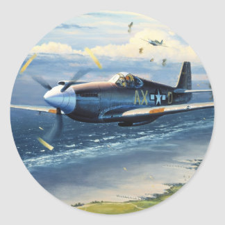 Mission Over Normandy by William S. Phillips Stickers