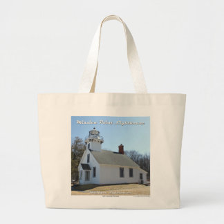 Mission Point Lighthouse - Traverse City tote Jumbo Tote Bag