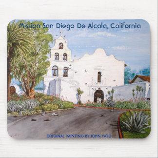 MISSION SAN DIEGO DE ALCALA, CALIFORNIA MOUSE MAT