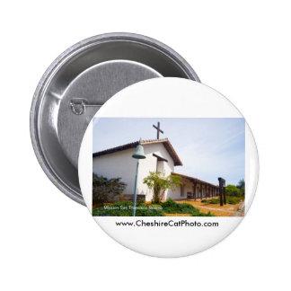 Mission San Francisco de Solano CA Products 6 Cm Round Badge