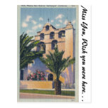 Mission San Gabriel, California Post Card