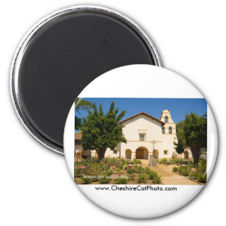 Mission San Juan Bautista California Products 6 Cm Round Magnet
