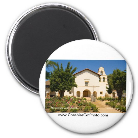 Mission San Juan Bautista California Products Magnet