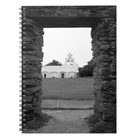 Mission San Juan - San Antonio, Texas - Notebook