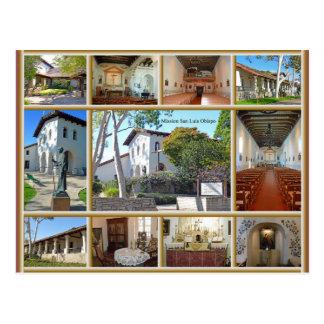 Mission San Luis Obispo Postcard