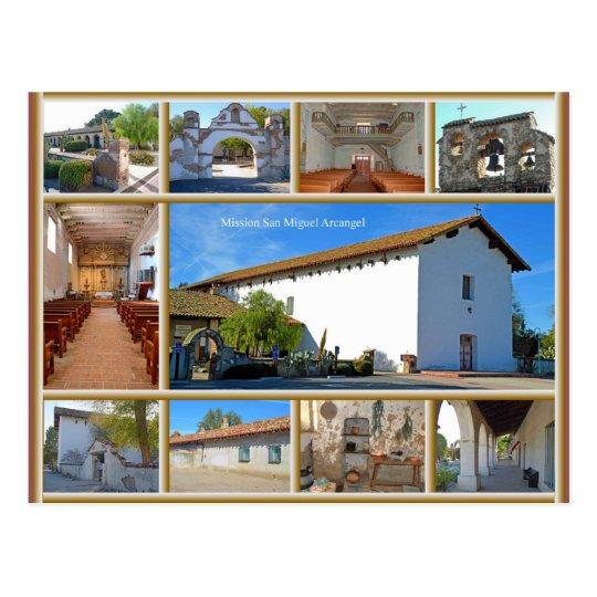 Mission San Miguel Postcard