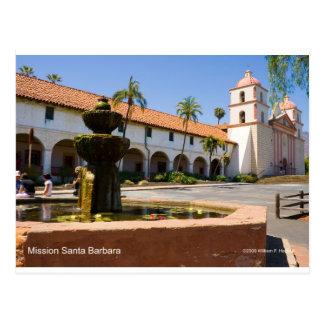 Mission Santa Barbara California Products Postcard