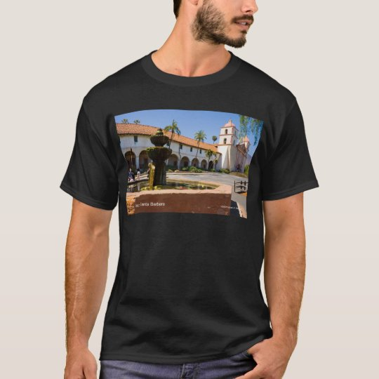 Mission Santa Barbara California Products T-Shirt