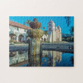 Mission Santa Barbara Jigsaw Puzzle