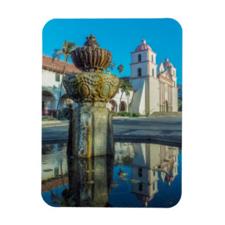 Mission Santa Barbara Rectangular Photo Magnet