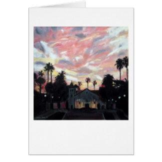 """Mission Santa Clara"" by Trina Chow Card"