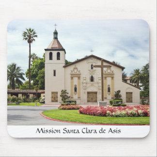 Mission Santa Clara de Asis Mouse Mat