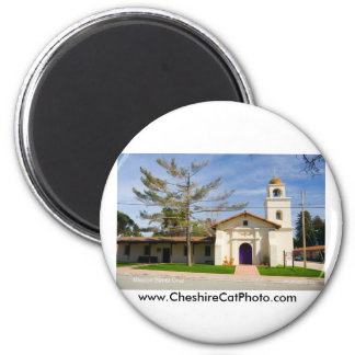 Mission Santa Cruz California Products 6 Cm Round Magnet
