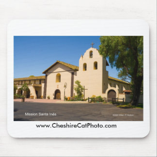 Mission Santa Inés California Products Mouse Pads