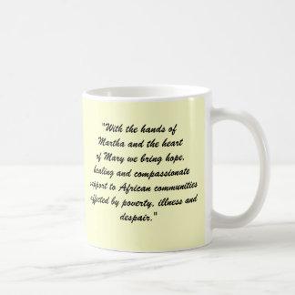 Mission Statement Basic White Mug